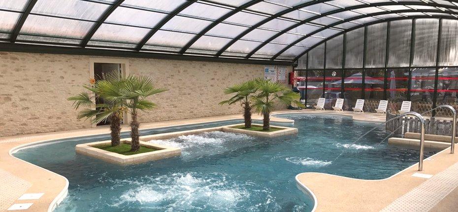 Camping des Yvelines avec piscine couverte et chauffée