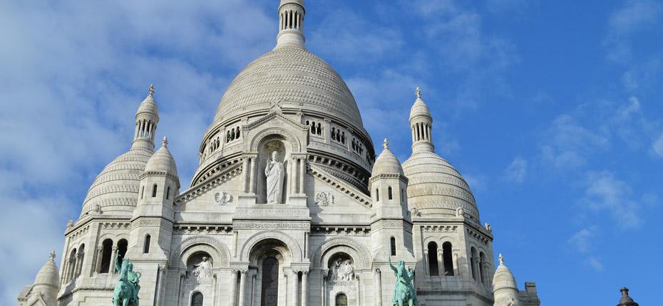 Le sacré cœur à Paris